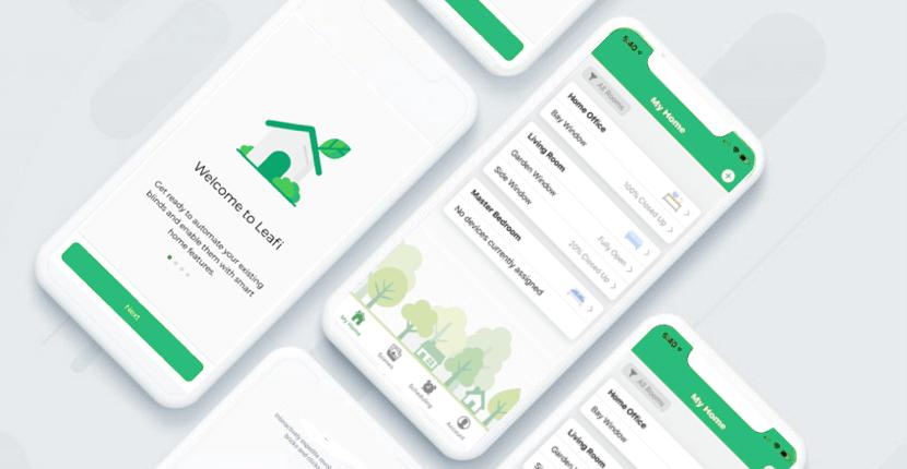 Simple mobile app controls